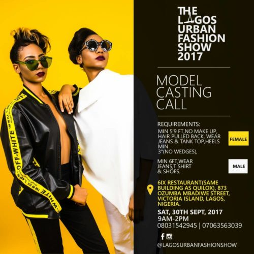 Lagos Urban Fashion Show 2017 Glam Essence Magazine