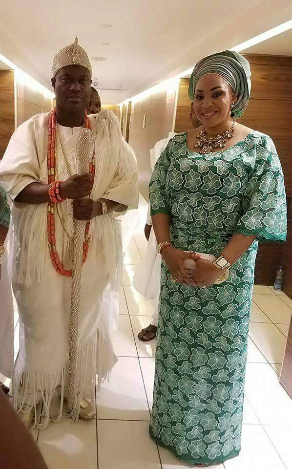 Ooni-and-Emmanuela-stepping-out